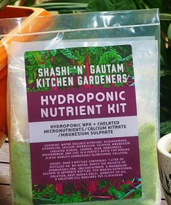 Buy Hydroponic nutrients solution making kit by Shashi n Gautam Kitchen Gardeners Web-Shop